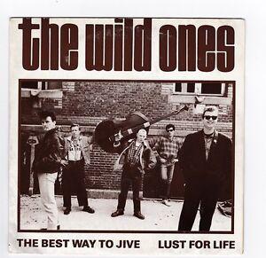 SP 45 TOURS THE WILD ONES THE BEST WAY TO JIVE 135155 SOUNDWORK en 1987