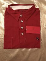 NWT-Southern Proper Men's Polo Golf Tourney Shirt Rich Red Size Medium See Pics
