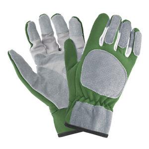 Schnittfeste Handschuhe Gartenarbeit Lederhandschuhe für Rose Grass Pruning Grip