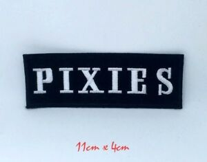Pixies American rock band badgeEmbroidered Iron on Sew on Patch #1369