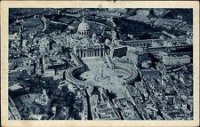 Rom Roma Italien Vatikanstadt Vatikan Vaticano AK 1933 Luftbild Fliegeraufnahme