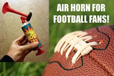 Air Horn Football Fans Mini Small Sports Pump Noise Maker Loud Cheer Hand Held