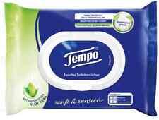 (0,10 €/ Einheit) Tempo Feuchte Toilettentücher Sanft & Sensitiv, 42 Tücher