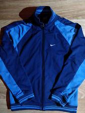 Nike 90's Vintage Womens Tracksuit Top Jacket Navy Blue Sweatshirt