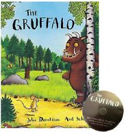 NEW  the GRUFFALO book & CD  by Julia Donaldson  book & CD of the story