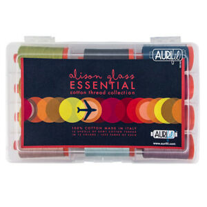AURIFIL THREAD ASSORTMENT ALISON GLASS ESSENTIAL COLLECTION 100% COTTON 50 WT