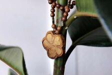 Ayahuasca Wooden Necklace, Banisteriopsis Caapi Handmade Jewelry, Ayahuasca...