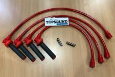 AROSPEED TRIPLE CORE 10.2mm Ignition Plug Wires Mitsubishi 4G93 4G92 4G91 DOHC