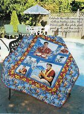 Aloha Elvis Quilt Pattern Pieced HW