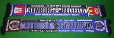 "Hamburg Bielefeld Schal ""BROTHERS IN ARMS"" HH Fan Kurve Block Elbe +neu+ HH"