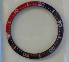 Bezel Insert Ring For Diver Watch 7S26-0020, 6309,7040,7002 Large, Pepsi