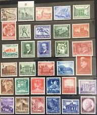 Germany Third Reich 1940-1941 issues MNH/MLH