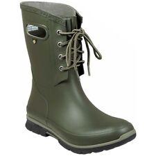 Bogs 72049 Womens Amanda 4-Eye Rain Boot, Dark Green, Size 7