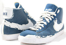 Men's Shoes NIKE Blazer High Jackie Robinson Brooklyn Court-Blue/White Size 13