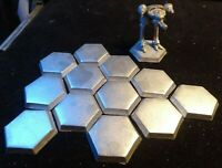 Battletech  1 1/4 inch (31 mm) epoxy hex bases (lot of 12)
