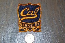 "Cal Berkeley UCB University Of California Berkeley 2 1/2"" Banner Patch College"