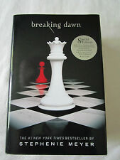 Twilight Breaking Dawn hardcover book Buch Stephenie Meyer Special Edition