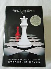 Twilight Breaking Dawn hardcover book Buch Stephenie Meyer Special Edition