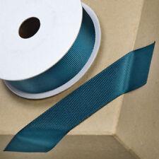 White Santa Sledge Christmas Grosgrain 1m x 16mm Ribbon Craft Lanyard Collar