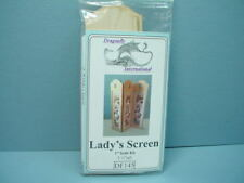 Miniature Lady's Privacy Screen Kit #DF145 Dragonfly Int'l 1/12th