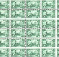#930 1 CENT ROOSEVELT Full mint sheet of 50 MNH OG