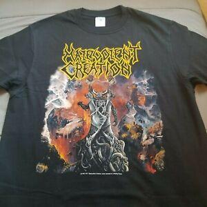Malevolent Creation - The Ten Commandments, Official t-shirt Large