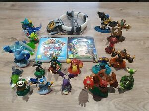 2 Jeux Skylanders Trap Team et Imaginators sur PS3 avec 19 figurines