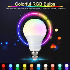 3W/5W/10W E27 16 Color Changing RGB LED Light Bulb+IR Remote Control Party Decor