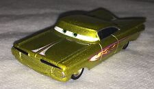 =Disney Pixar Cars Yellow Ramone 1959 Chevrolet Impala Diecast Loose
