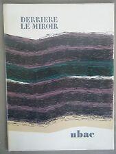 Derrière le Miroir, UBAC - N°196 1972 - 2 LITHOGRAPHIES ORIGINALES