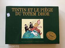 Tintin et le Piège du Totem d'Hor serie Edition limitée 5000 exemplaire 1991