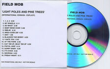 FIELD MOB Light Poles & Pine Trees UK 16-trk promo test CD Explicit Version