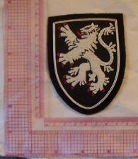 Medieval Crusades Knight War Lion King Kingdom Holy Land Heraldry Shield Patch L