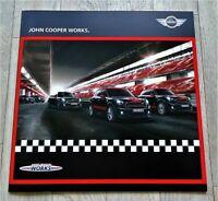 11.037) Prospekt John Cooper Works Mini Brochure 2014 Country Paceman Coupe ----
