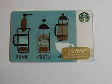 2014 Coffee Press - Holiday Issue Starbucks Cards - New & Never Swiped