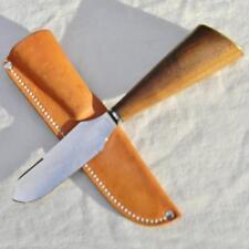 Bill Goodwin custom Hunter-Skinner knife w 1900th Landers Fray & Clark AW blade