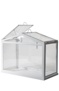 Ikea Greenhouse, Indoor/outdoor, White Plant Holder Stand