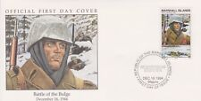 W85 4-1 Isole Marshall FDC COVER 1994 OFFENSIVA DELLE ARDENNE 1944