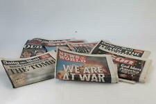 More details for newspaper collection 9/11 terrorist attacks 11th september 2001 new york x7