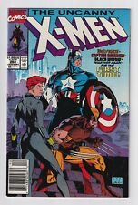 Uncanny X-Men #268 (VF, 1990, Jim Lee, Wolverine, Captain America, Black Widow)