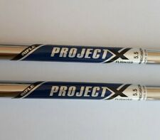 PROJECT X 5.5 Flighted Shafts choice of 2 iron or 3 iron .355 taper BRAND NEW