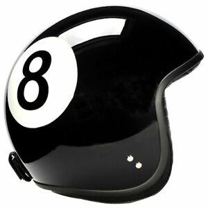 Davida Jet Motorcycle Helmet