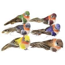 12pcs Artificial Foam Feather Birds DIY Crafts Ornament Home Garden Decor