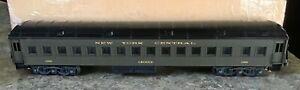 "K-Line,  NYC,  18"" Heavyweight Passenger Car,  New York Central,  #1186 Crocus"