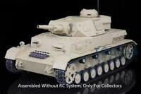 US Stock 3858 1/16 Plastic German IV F Henglong Static Tank Model