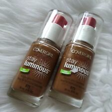 2 New Covergirl Outlast Stay Luminous Natural Glow Foundation, 875 Soft Sable