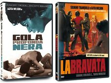 2 DVD Ajita Wilson GOLA PROFONDA NERA (1976)  LA BRAVATA 1997 SIGILLATO