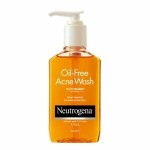 Oil Free Facial Cleanser With Salicylic Acid From Neutrogena (175ml) Free Shp.