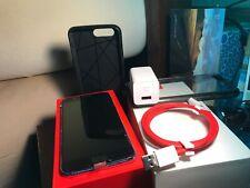 OnePlus 5 A5000 128GB Unlocked Dual-SIM Midnight Black- Original Packaging+Cases