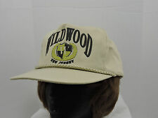 Wildwood New Jersey Hat Cap Tan Green Black Crest One Size Snapback Lace